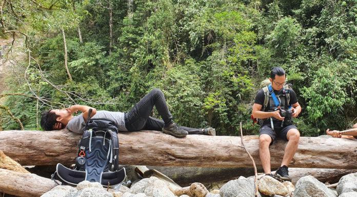 Cắm trại trong rừng Hoàng Liên